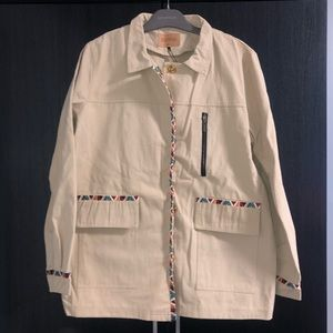 Driftwood Embroidered Jacket
